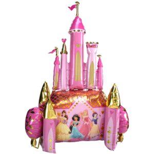 Ходячий шар из фольги Замок Принцессы