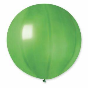 Шар воздушный большой металлик зеленый