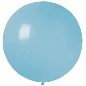 Шар воздушный большой пастель голубой матовый