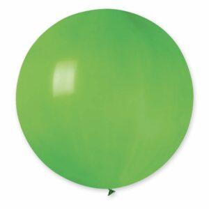 Шар воздушный большой пастель зеленый