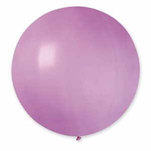 Шар воздушный большой пастель розовый