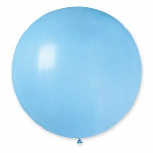 Шар воздушный большой пастель светло-голубой