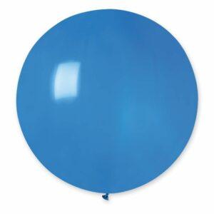 Шар воздушный большой пастель синий