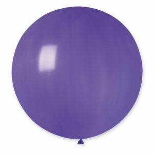 Шар воздушный большой пастель фиолетовый