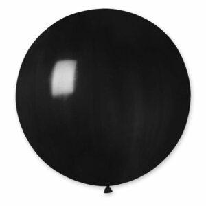Шар воздушный большой пастель черный