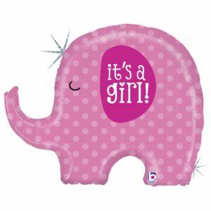 Шар из фольги Слоненок Это Девочка