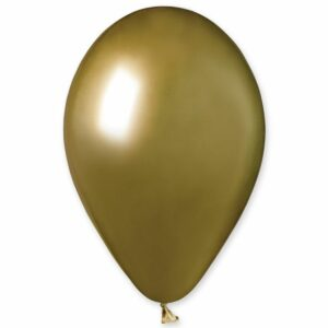 Воздушный Шар Хром золото