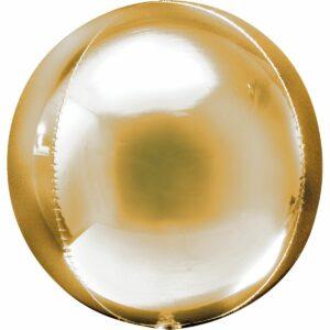 Шар из фольги Сфера металлик золото