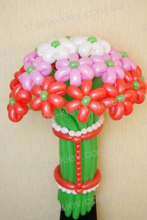 Букет Фейерверк из воздушных шаров