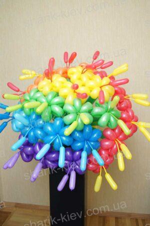 Букет Ромашки из воздушных шаров