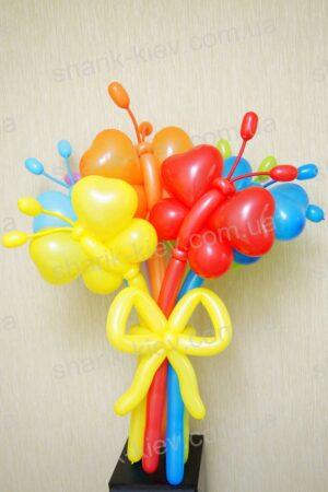 Букет Порхание Бабочек из воздушных шаров