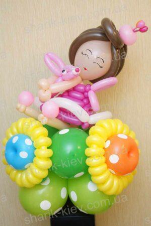 Дюймовочка из воздушных шаров