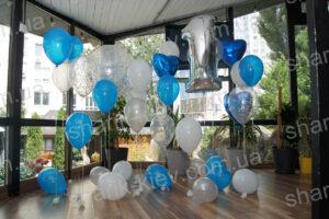 Фотозона 1 Годик из воздушных шаров