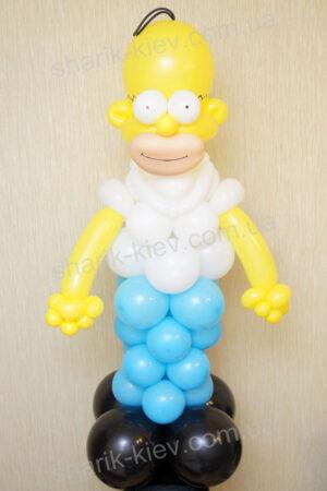 Гомер из воздушных шаров