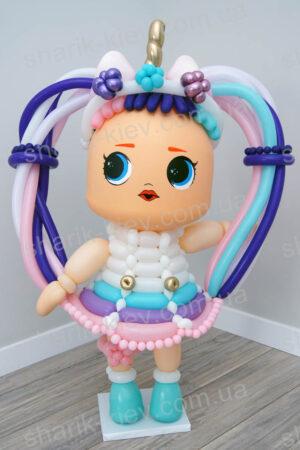 Кукла Lol Единорожка из воздушных шаров