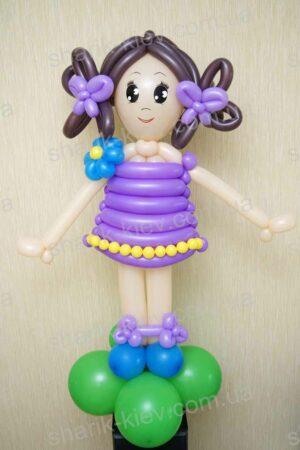 Куколка из воздушных шаров