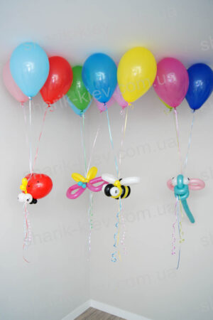 Летающие Букашки из шаров