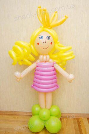 Маленькая Принцесса из воздушных шаров