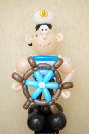 Морячок из воздушных шаров