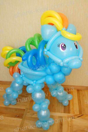 Лошадка My Little Pony из воздушных шаров