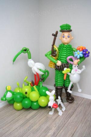 Охотник из воздушных шаров