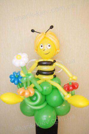 Пчела Майя из воздушных шаров