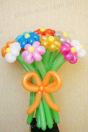 Букет Ромашковое Поле из воздушных шаров