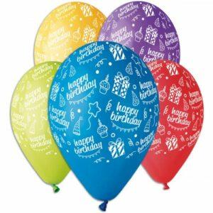 Воздушный шар Happy Birthday подарки