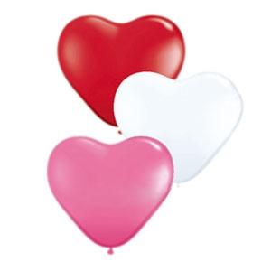 Шар Сердце с гелием 12 дюймов