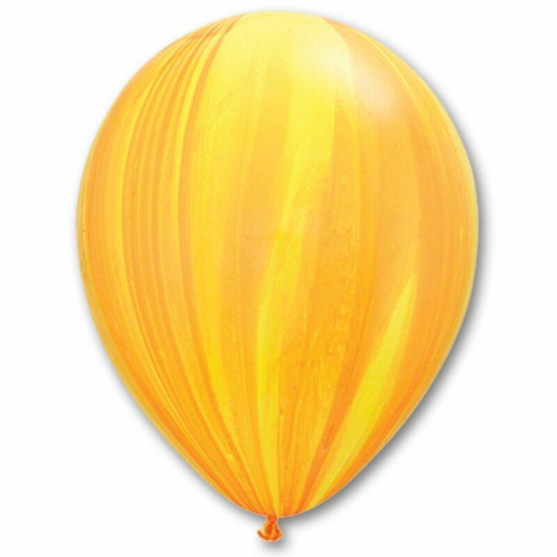 Воздушный Шар Агат желто-оранжевый