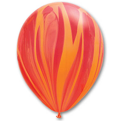 Воздушный Шар Агат красно-оранжевый