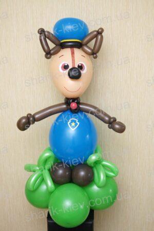 Щенок Патрульный из воздушных шаров
