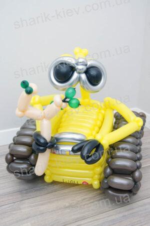 Wall-e из воздушных шаров