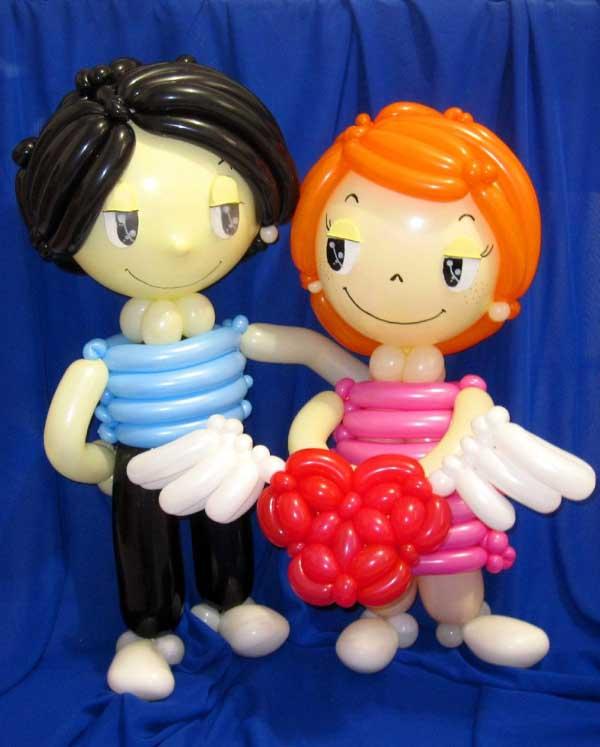 Love is... из воздушных шаров