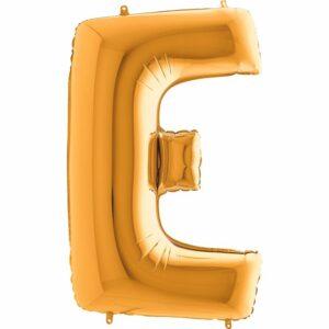 Шар из фольги Буква E