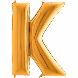 Шар из фольги Буква K
