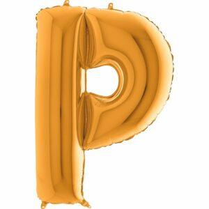 Шар из фольги Буква P