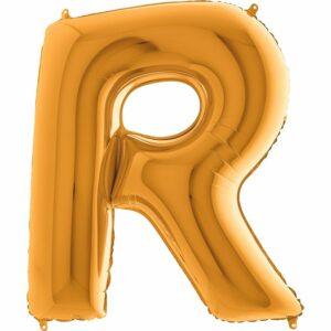 Шар из фольги Буква R