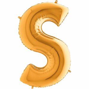 Шар из фольги Буква S
