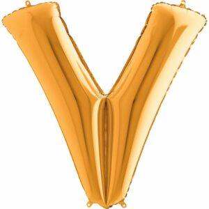 Шар из фольги Буква V