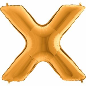 Шар из фольги Буква X