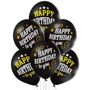 Воздушный Шар Happy Birthday мелом