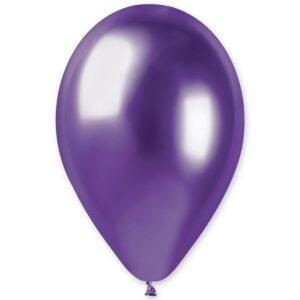 Воздушный Шар Хром фиолетовый